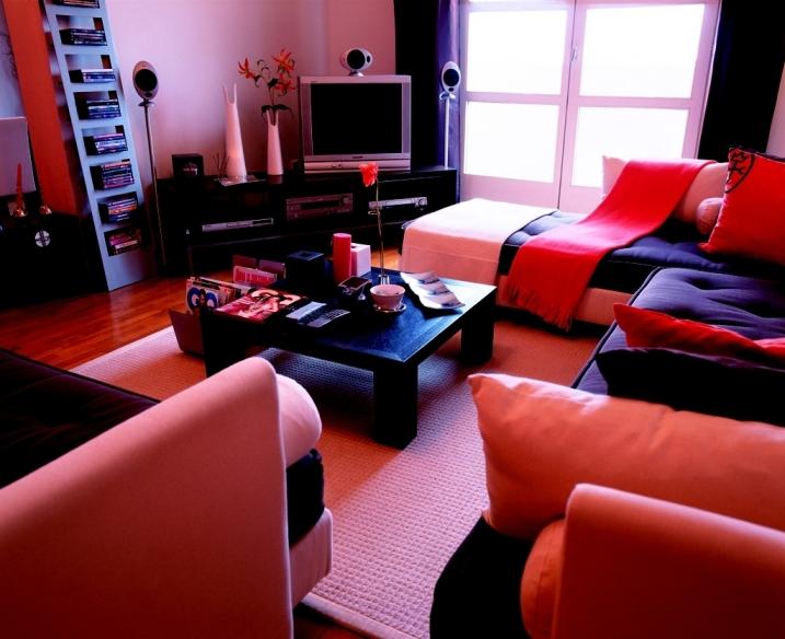 Цветовая гамма комнаты фото